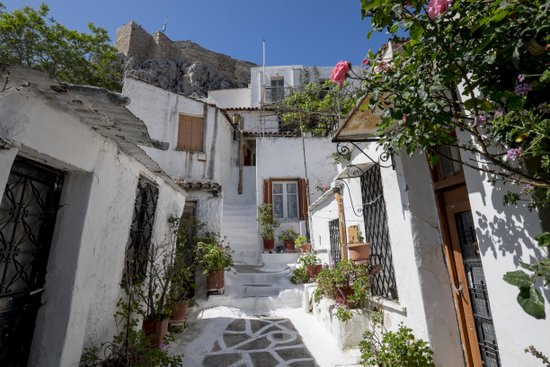 Athene_Anafiotika-wijken