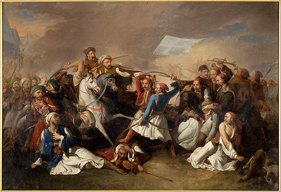 Athene_Benaki_museum_Marsigli_Filippo_-_The_Death_of_Markos_Botsaris_-_Google_Art_Project.jpg