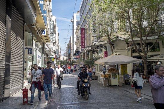 Athene_Ermou-winkelen
