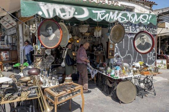 Athene_rommelmarkt-monastiraki