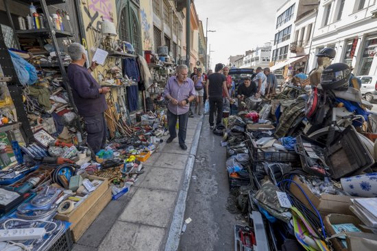 Athene_rommelmarkt-monastiraki-markt