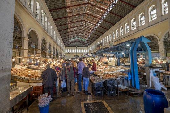 Athene_varvakeio-markt