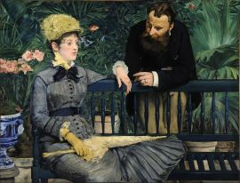 Manet: Dans la Serre (1879)