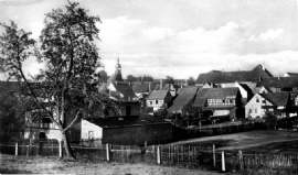 Hermsdorf, oude dorpskern in 1953