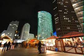 Winterwelt op Potsdamer Platz
