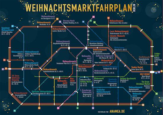 Weihnachtsmarktfahrplan Berlin