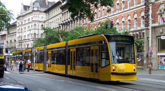 Boedapest_tram-sightseeing
