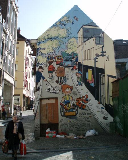 Brussel_striproute-strips-wandeling