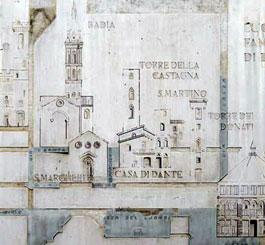 Florence_wandeling-Dante-plaquette