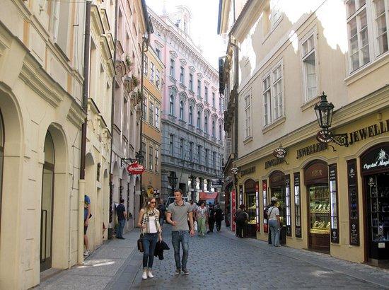 Praag_karlova-straat-oude-stad