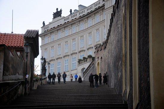 Praag_burcht-trappen