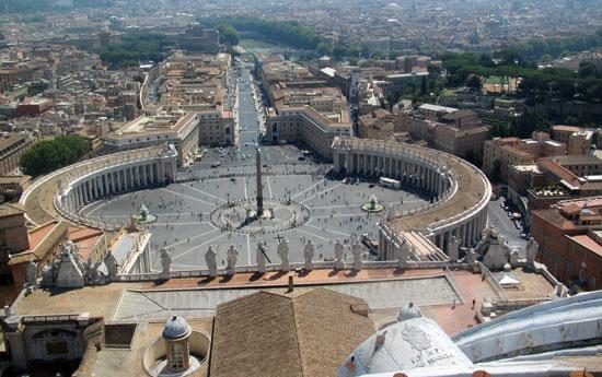 Rome_Sint_Pieter_plein-uitzicht