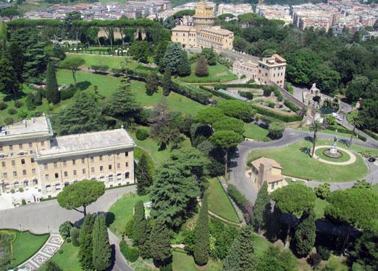 Rome_Vaticaanse_tuinen-vaticaan