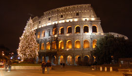 Rome_kerst-colosseum