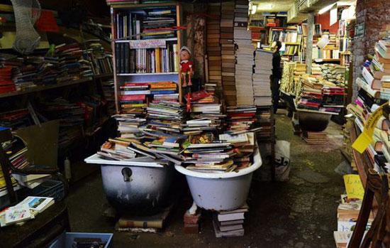 Venetie_libreria-acqua-alta-boekhandel