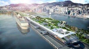 Hong Kong opent nieuwe cruise terminal