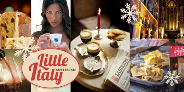 Kerstfair Little Italy in Amsterdam