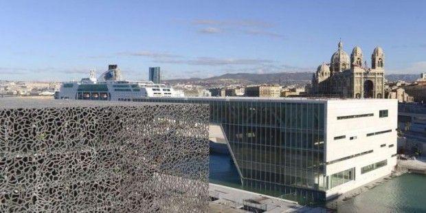 Nieuwe museum in Marseille