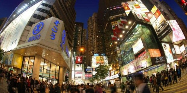 Shoppen in Hong Kong