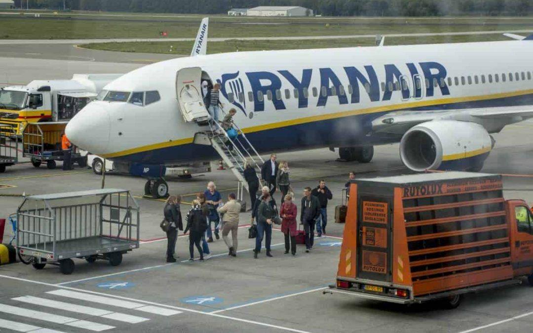 Ryanair start negen nieuwe routes vanaf Eindhoven Airport