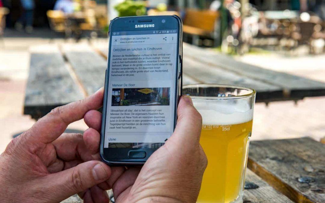 Handige app voor Eindhoven en andere steden
